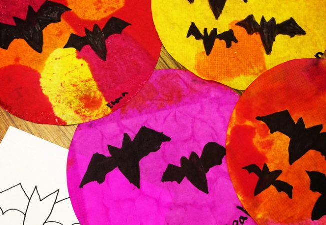 halloween art lesson plans