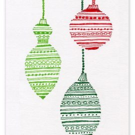 christmas drawings for cards