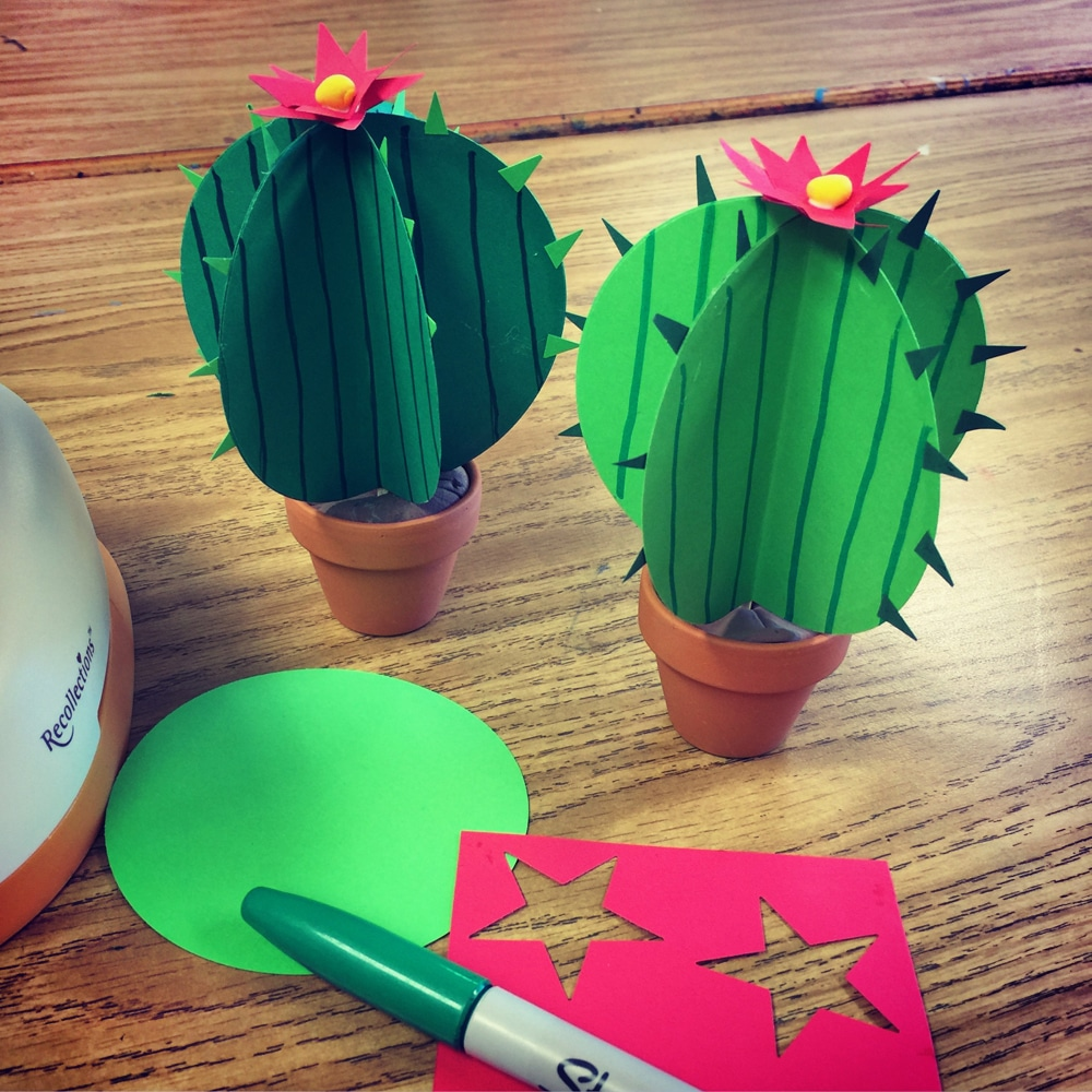 Paper Cactus · Art Projects for Kids