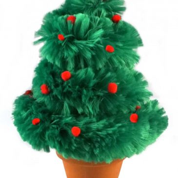 Pipe Cleaner Christmas Tree Craft