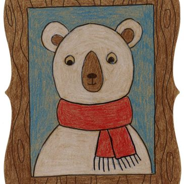 Draw a Framed Bear