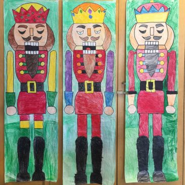 How to Draw a Giant Nutcracker