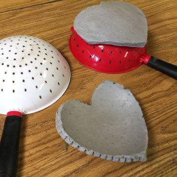 Ceramic Heart Bowls