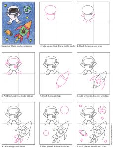 Draw an Astronaut diagram