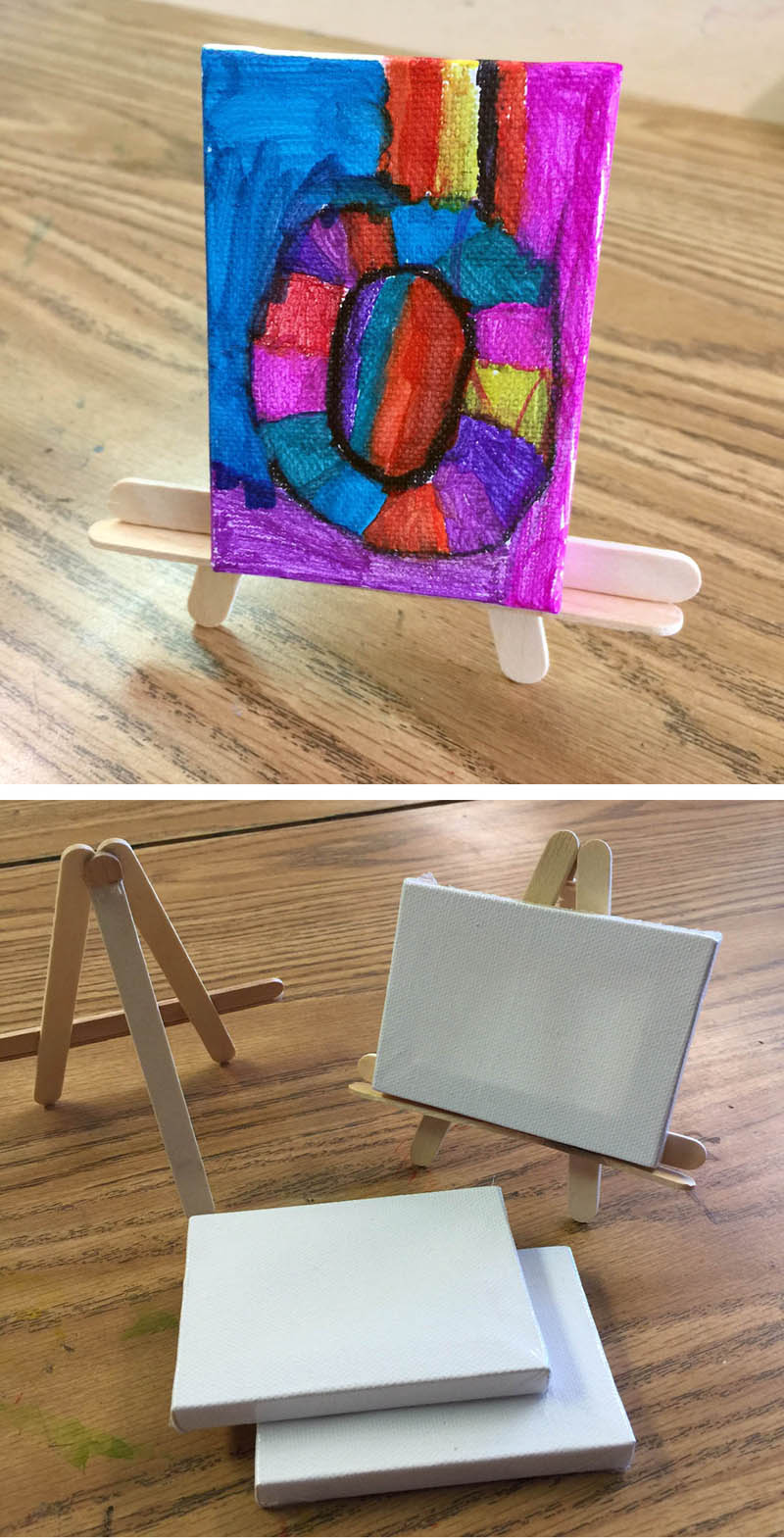 popsicle stick art