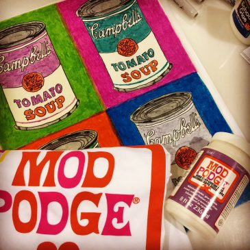 Mod Podge at the CHA Show