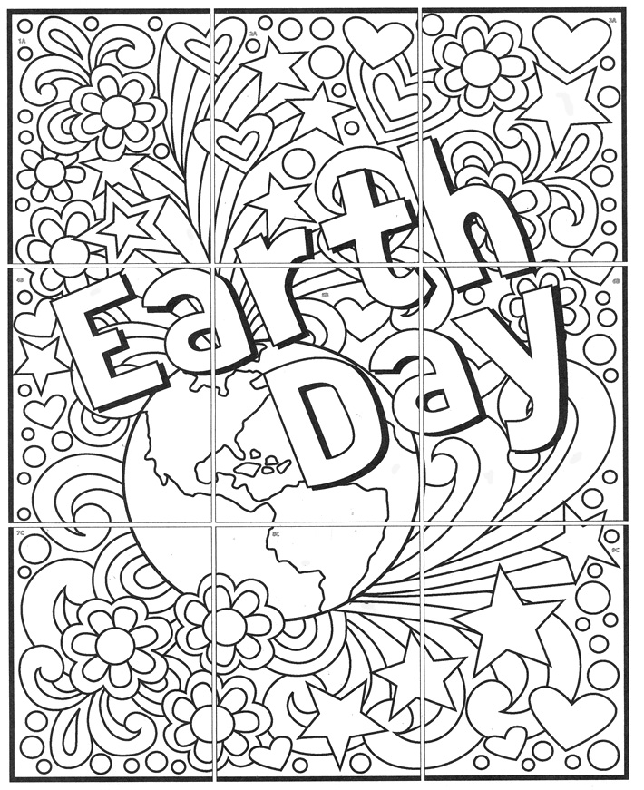 Free mini earth day mural art projects for kids now you can try out one of earth day printables and see how easy it is to make large colorful murals for your home or classroom ccuart