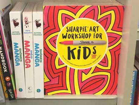 """My """"Sharpie Art Workshop for Kids"""" Book"""