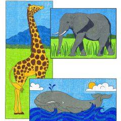 Mini Animal Murals