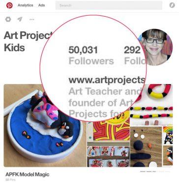 Pinterest Milestone: Over 50,000 Followers!