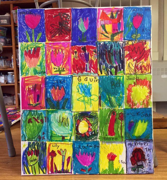 Pre K Auction Art 183 Art Projects For Kids