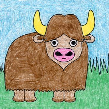 Draw a Water Buffalo