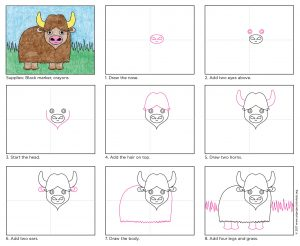 Draw Water Buffalo