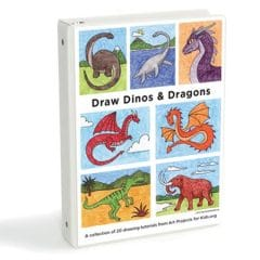 Draw Dinos and Dragons