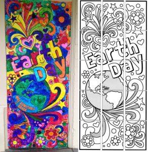 Earth Day door poster
