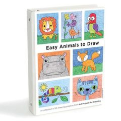 Easy Animals to Draw eBook