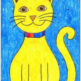 draw simple cat