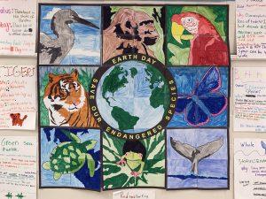 Endangered animals mural