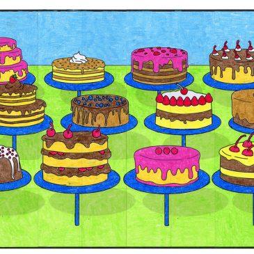 Theibaud Cake Mural