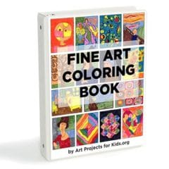 Fine Art Coloring eBook