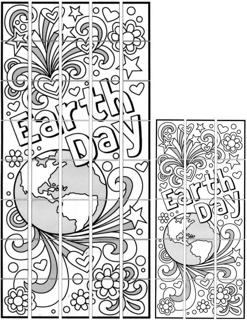 Doodle Earth Day Mural  U00b7 Art Projects For Kids