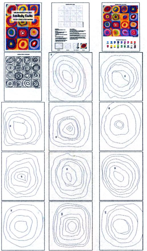 Kandinsky Circles  U00b7 Art Projects For Kids