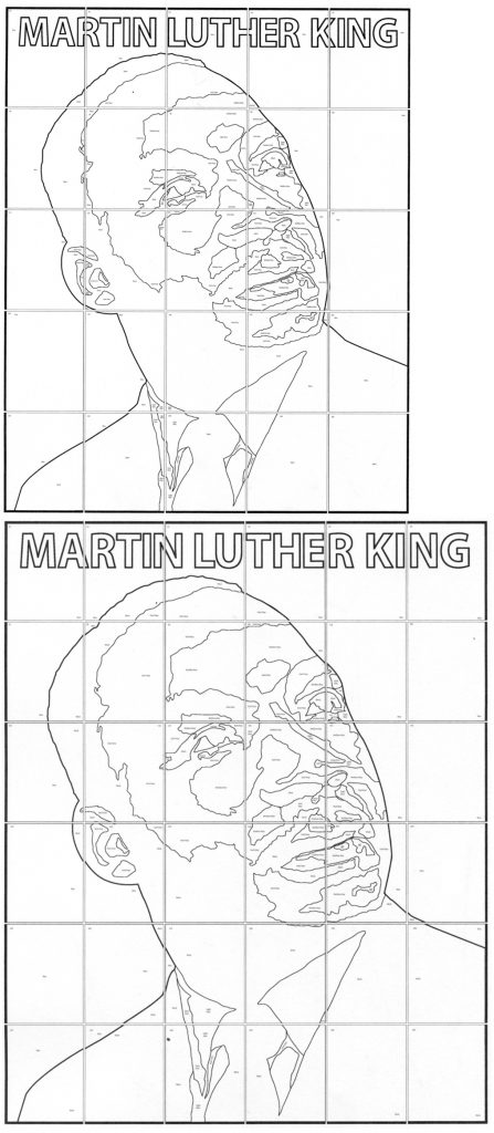 martin luther king pictures to color