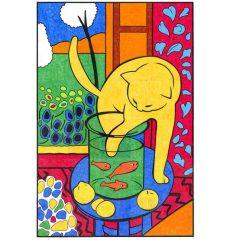 Matisse Cat Mural