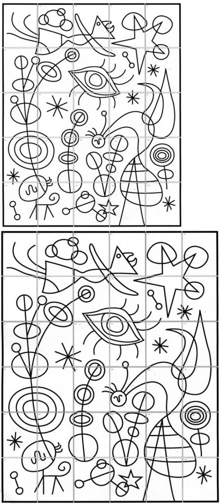 Joan Miro Mural 183 Art Projects For Kids