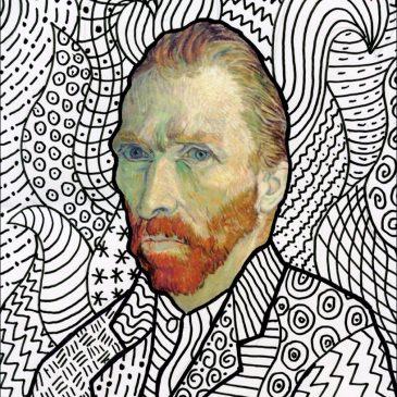 Van Gogh Line Art