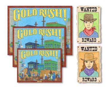 gold rush for kids