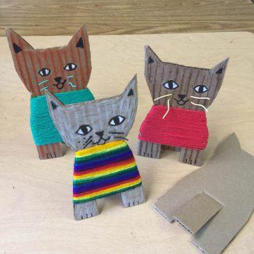 Cardboard Kittens