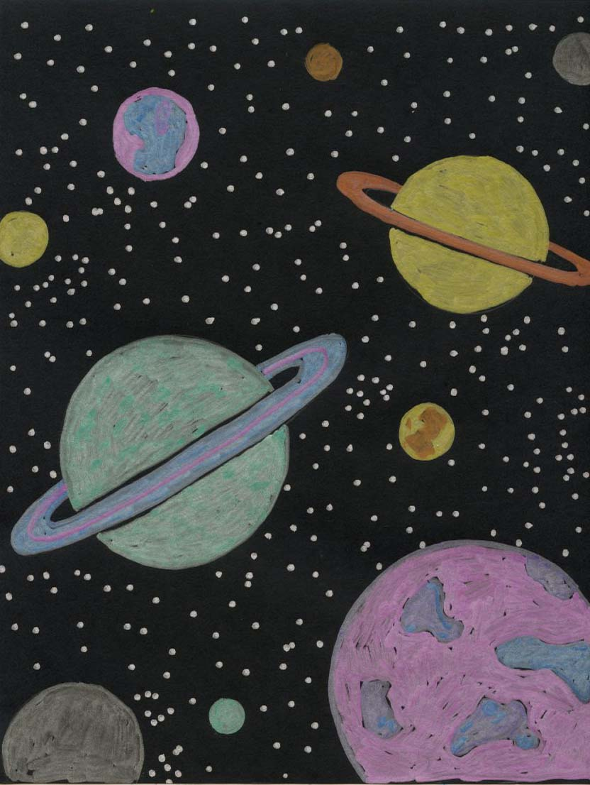 Planet Drawing Fun · Art Projects for Kids