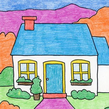 Draw a Cottage