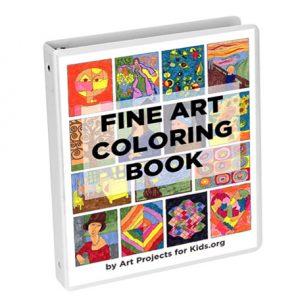 fine art coloring books