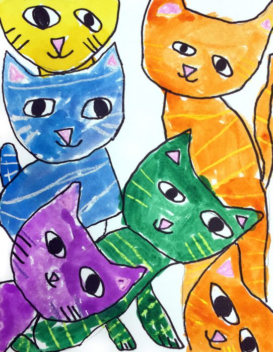cat pictures to draw