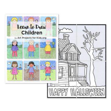 Drawing Children eBook and Bonus Mini Mural