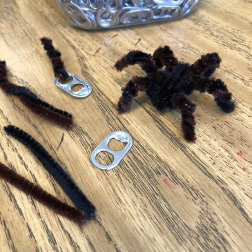 Pipe Cleaner Tarantula