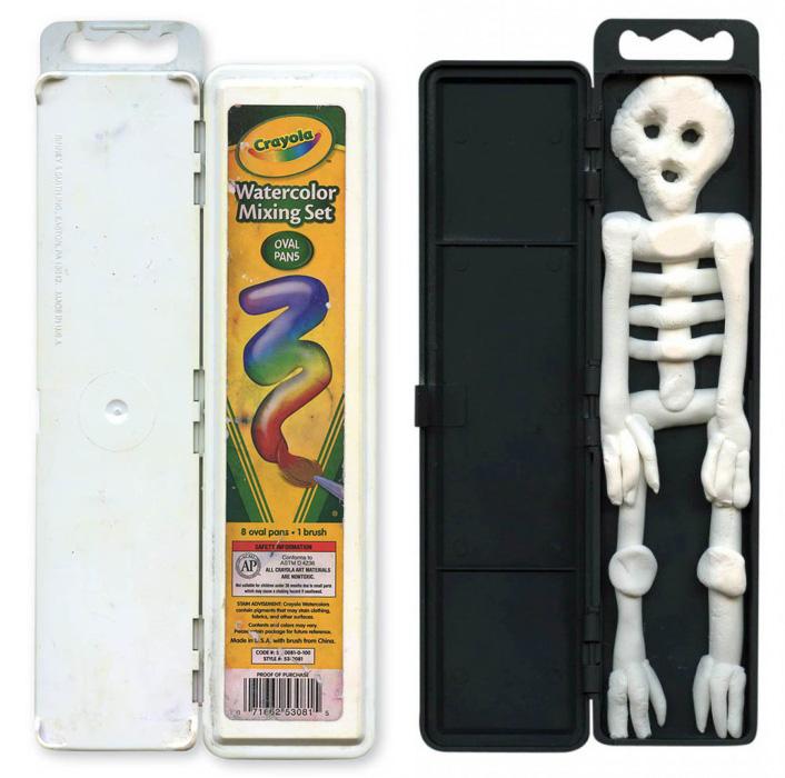 Model Magic Skeleton