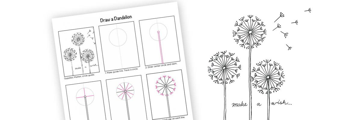 Blog: How to Draw a Dandelion