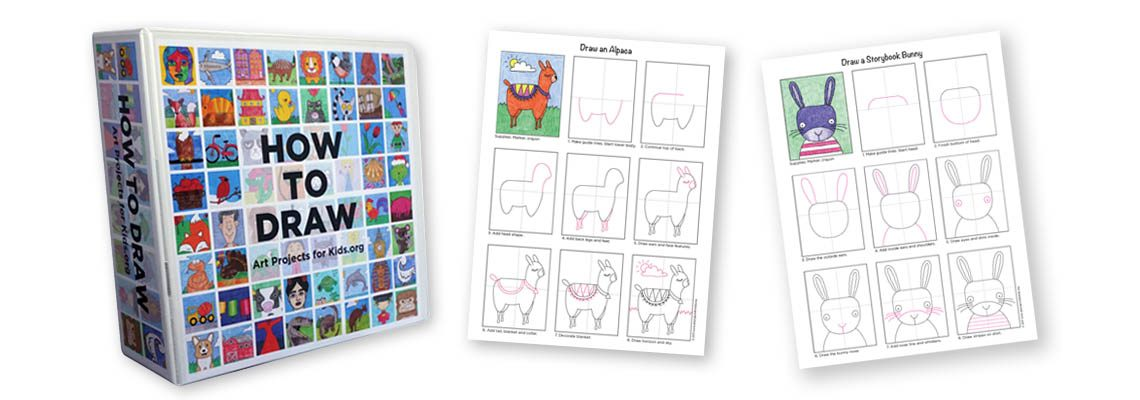 PDF Shop: How To Draw eBook with 200 Tutorials