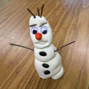Make Olaf the Snowman