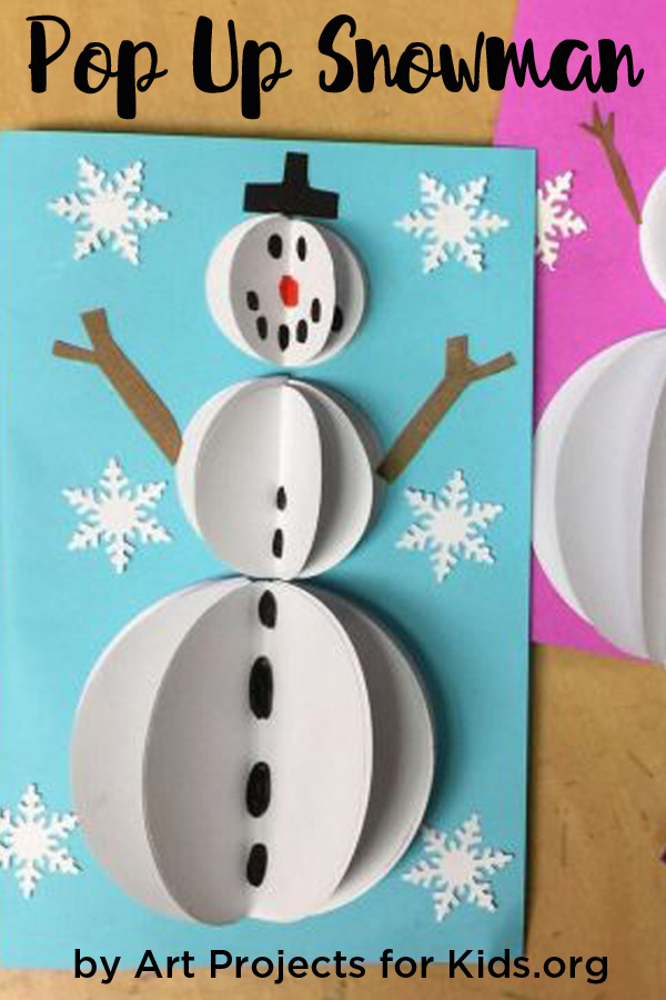 Pop Up Christmas Cards · Art Projects for Kids