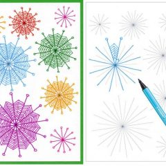 zentangle patterns for beginners