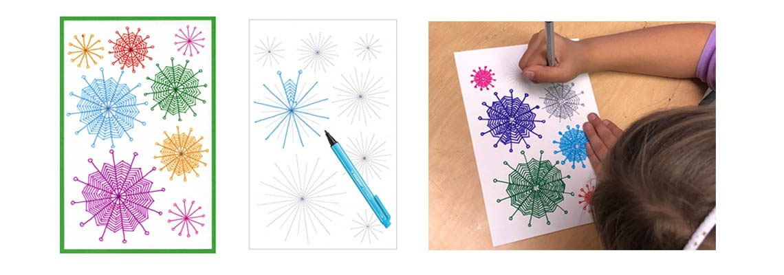 Blog: How to Draw a Zentangle Snowflake