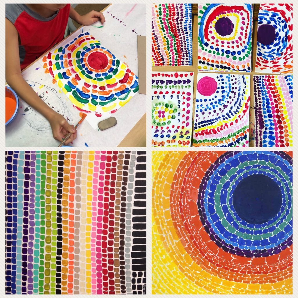 Abstract Art With Alma Woodsey Thomas Art Projects For Kids