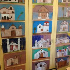california mission drawings