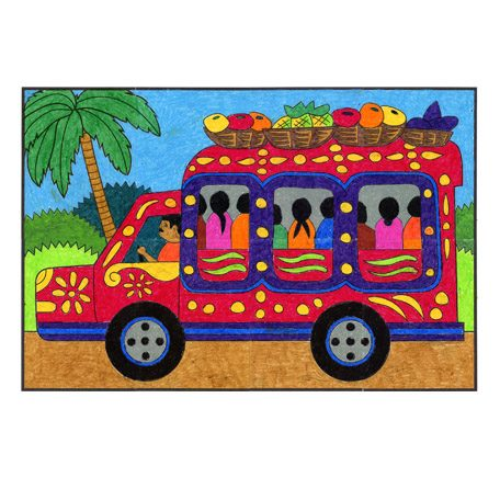 Haiti Bus