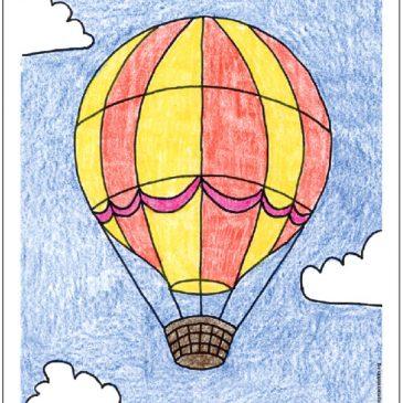 Draw a Hot Air Balloon