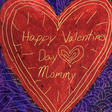 Scratch Art Designs for Valentine's Day